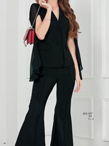 艾米女装黑色套装