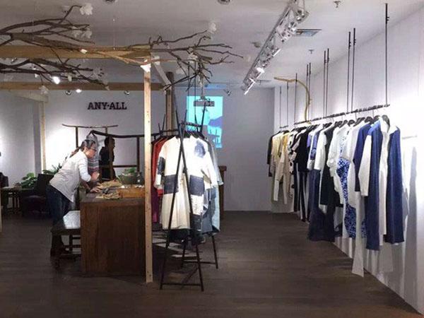 ANY-ALL品牌女装终端品牌旗舰店店面