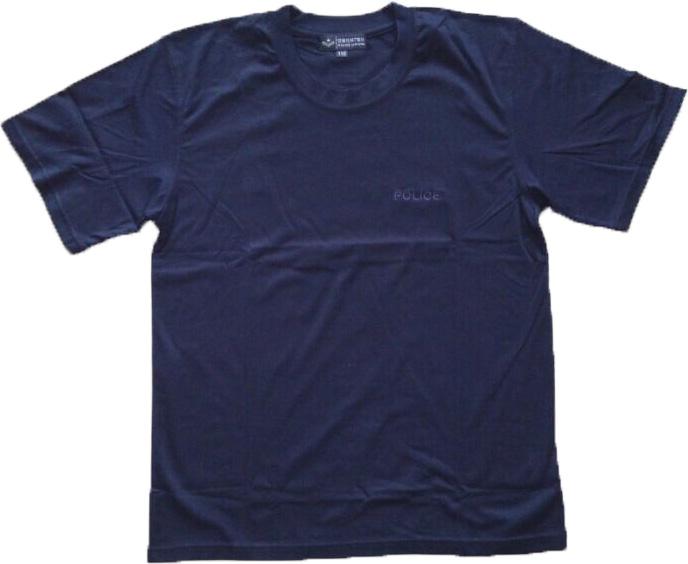 厂家供应警用冰丝纯棉丝光棉T恤