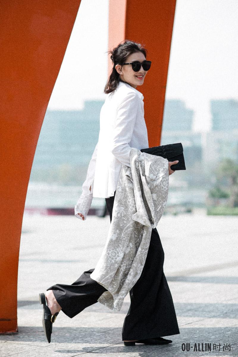 深圳时装周别样街拍——看深圳时装的另一种可能_服装图片