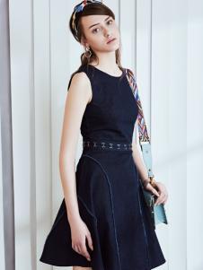 奥伦提2017夏新款甜美连衣裙