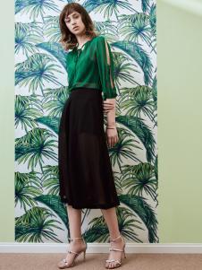 奥伦提17夏新款知性时尚套装