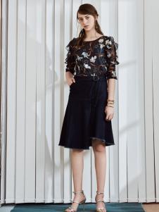 奥伦提2017夏新款印花套装