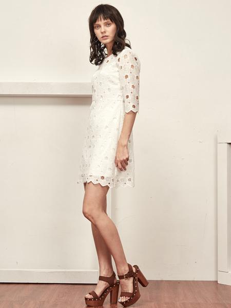 OMUCHO.Y白色连衣裙