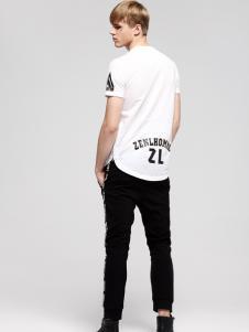 佐纳利男士休闲T恤