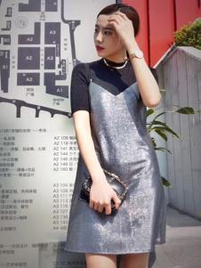 枺上女装2017春夏新品吊带裙