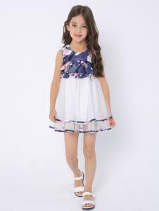 维尼叮当2017春夏新品白色纱裙