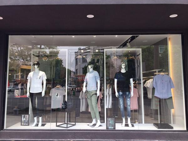 99cm快时尚男装店品牌旗舰店店面