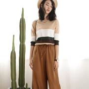 普普风女装2017新品 时尚搭配不如套装来得巧妙!