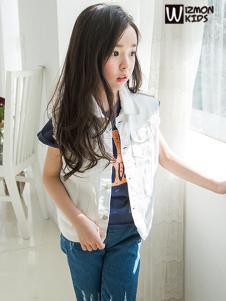 蓝角兽2017新款无袖外套