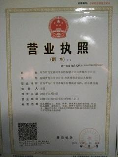南昌竹生富纳米科技有限公司企业档案