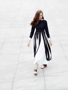 37度love女装新款长款连衣裙