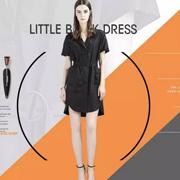 西纳维思17夏新品分享 小黑裙不好看?可能是你穿错了!