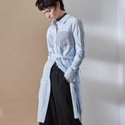 玛琪雅朵女装2017新品 条纹阔腿裤的时尚搭配