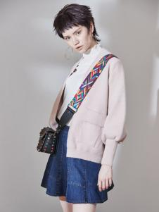 玛琪雅朵2017春夏新品灯笼袖外套