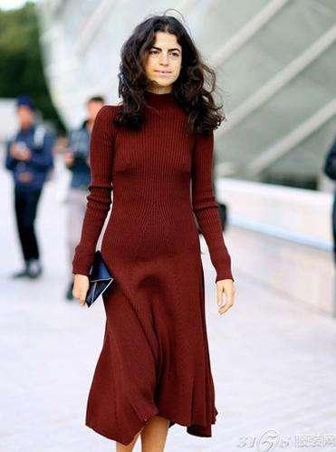 冬季长裙怎么搭配好