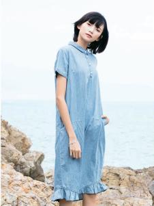 UKHARA 布卡拉新款短袖连衣裙