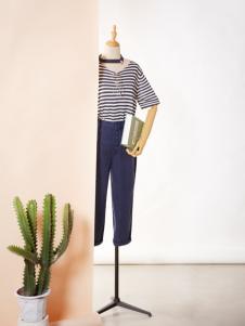 速品2017新款夏装条纹T恤