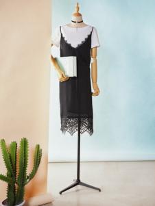 速品2017新款夏装蕾丝裙