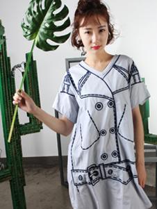拾卡SAYKA2017连体衫