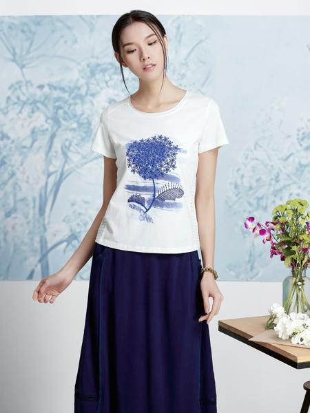 丽比多2017新款深蓝色半身裙