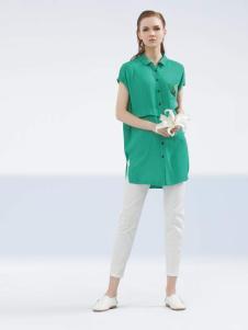 约布女装2017夏款衬衫