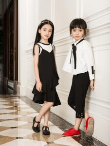 瑞比克2017夏款女童连衣裙