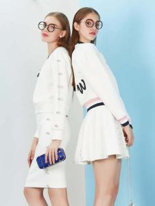 YDG2017新款白色短裙