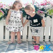芭乐兔童装新品 夏季印花穿搭时尚既舒适又有活力