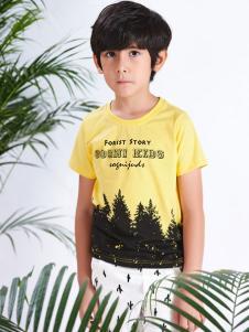 2017卓维乐黄色T恤
