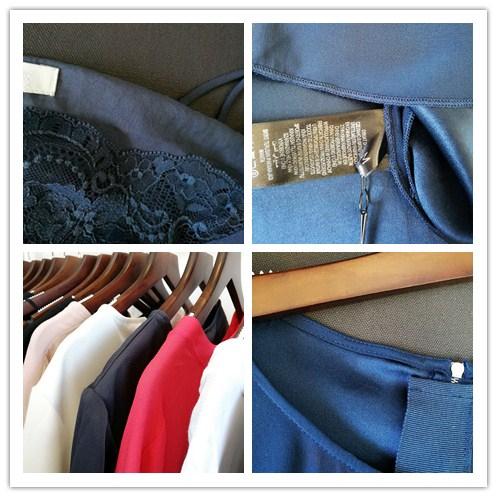 新到一批真丝衬衫连衣裙,雪纺衫等,实体现货现批