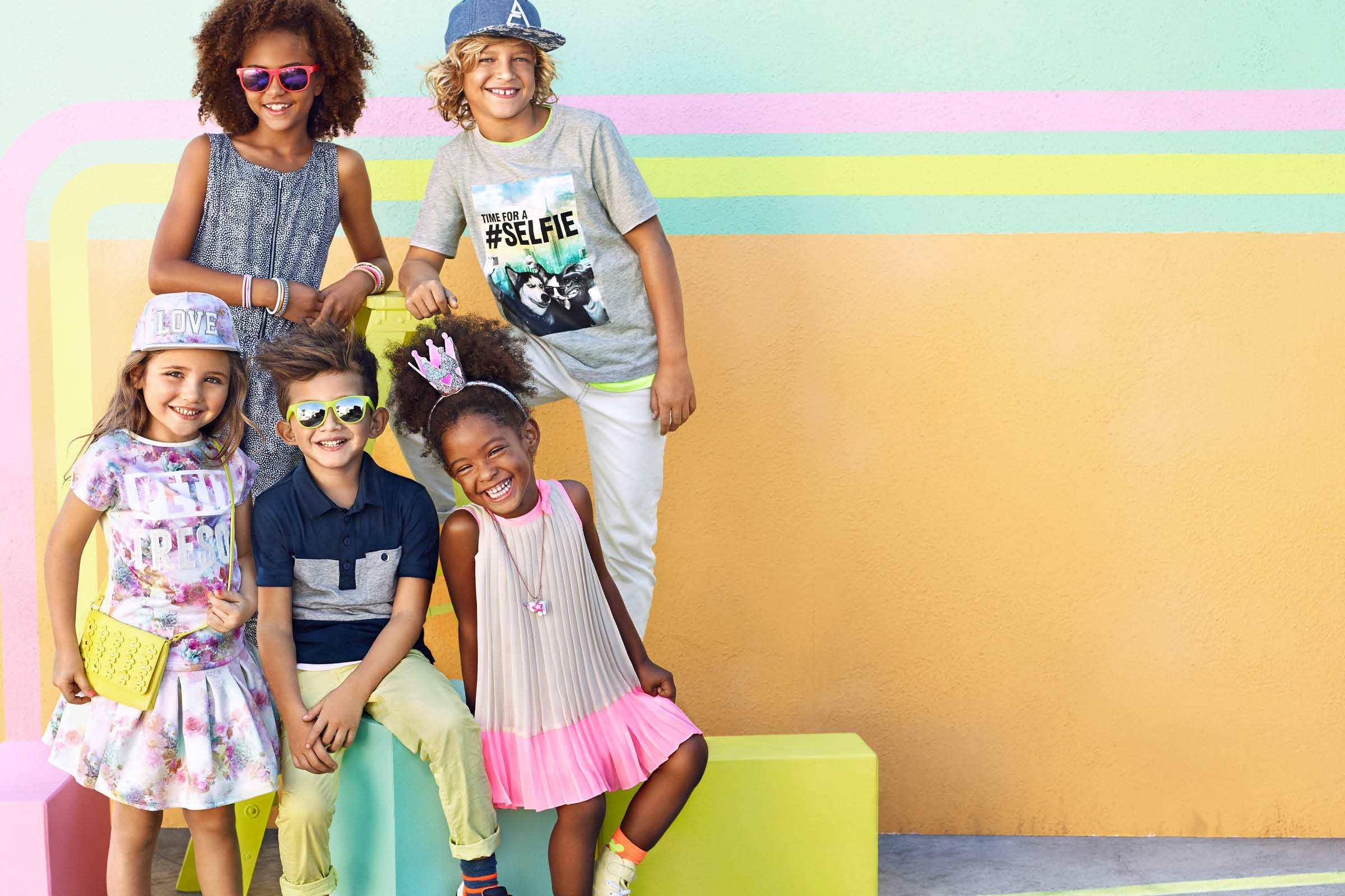收購品牌童裝