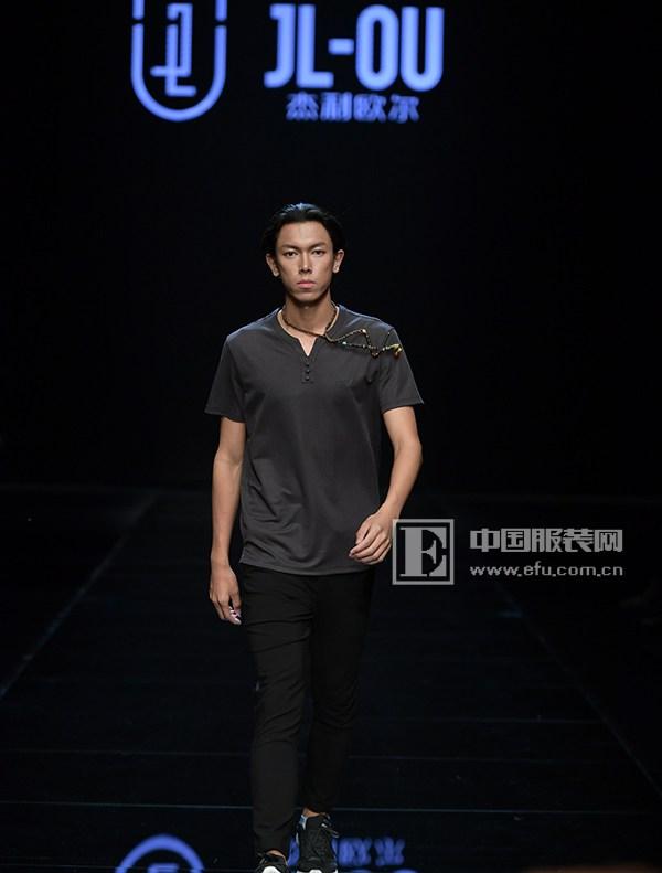 2017江南国际时装周 杰利·欧尔男装传统工艺与创新设计的碰撞