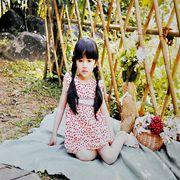 的纯童装新品塑造女孩夏季清新可爱风