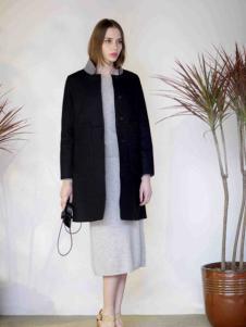 格纶雅女装黑外套
