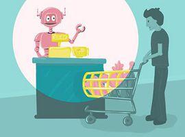 美国零售业750万职位或被机器人取代