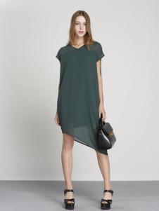 吉米赛欧2017新款V领连衣裙