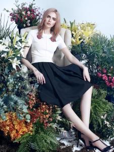 红贝缇2017春夏新款套装裙