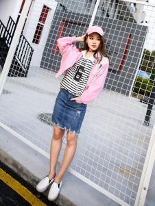 酷芭芭kbb新款粉色外套