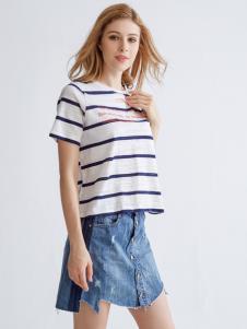 都市衣柜新款牛仔短裙