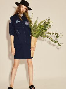 西蔻17新款文艺连衣裙
