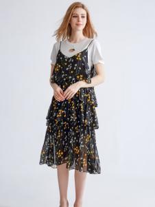 都市衣柜新款吊带裙