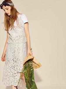 摩登时尚西蔻17新款蕾丝裙