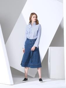 凯伦诗2017春夏新款衬衫