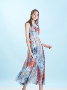 卡索Castle17时尚新款吊带裙