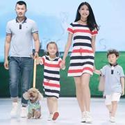 """重庆国际少儿时装周落幕 亲子童装领导品牌T100演绎""""家庭时尚"""""""