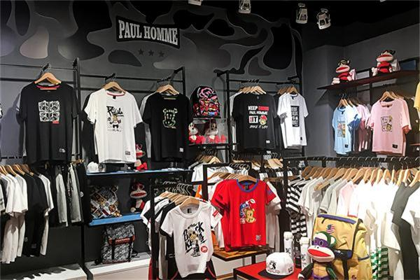 PH微潮品牌店铺展示