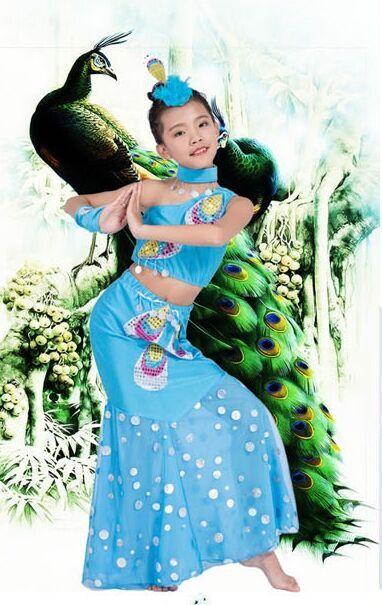 节假日演出服装儿童舞蹈服装租赁