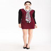 维娜女装新品 秋季气质穿搭让你充满女人味