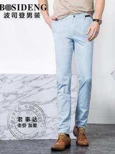 欧森朗新款浅蓝色休闲裤